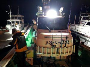 人生初めてのタチウオ釣りでF5、F6連発