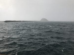室蘭港 アイナメアブラコ釣り