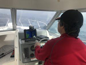 無線塔沖で今年初のブリチャレンジ!
