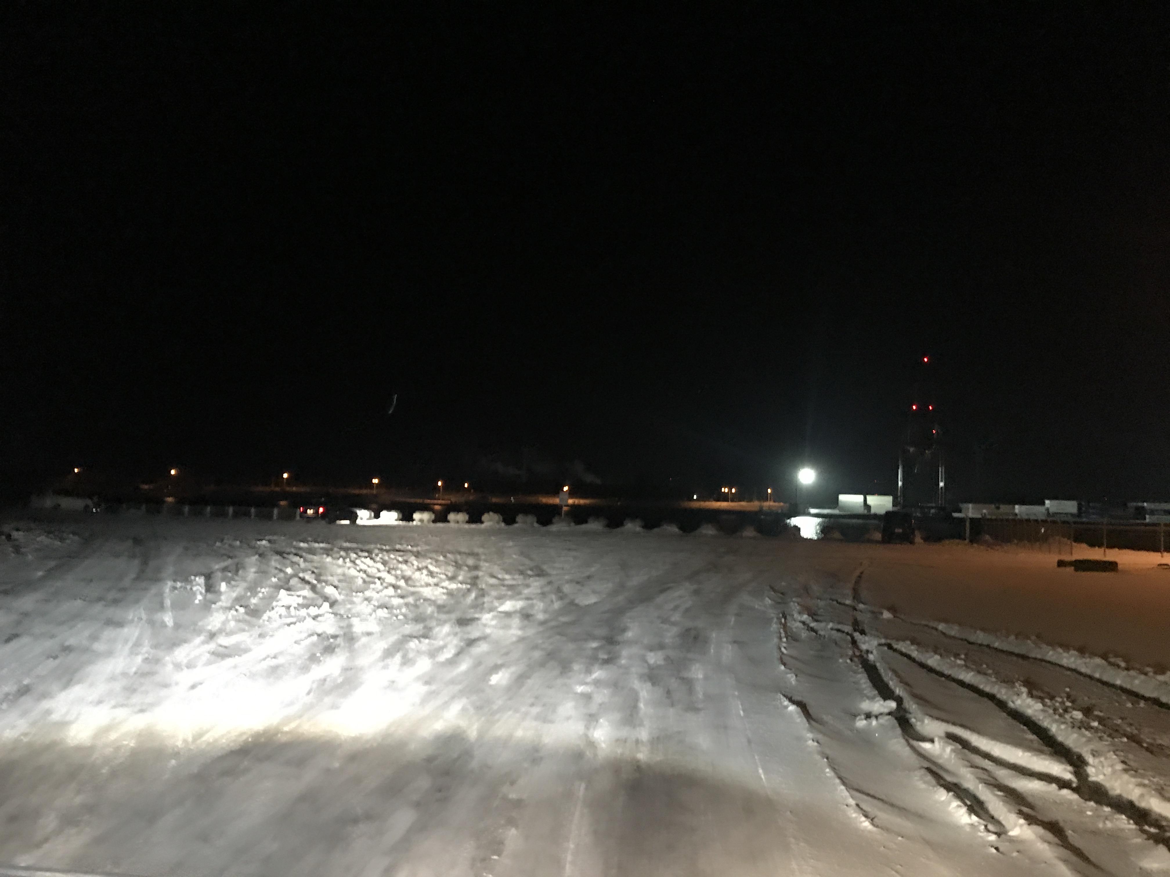 石狩湾新港のニシン釣り状況