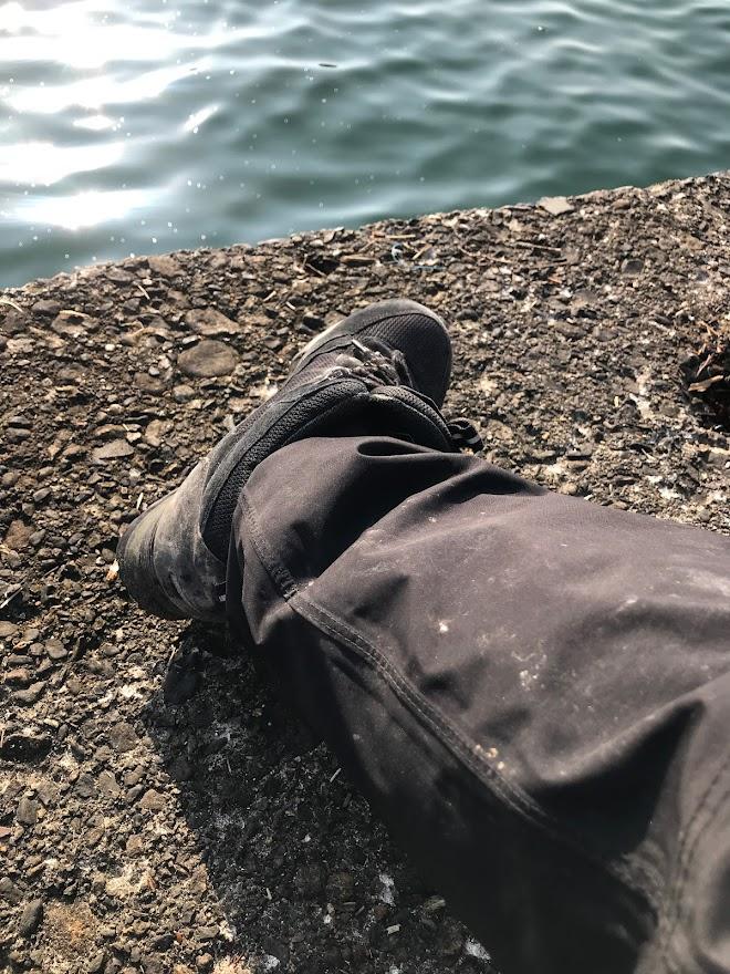 歌別漁港にサケ釣りに。そしてダイワシーホーク殉職。。。